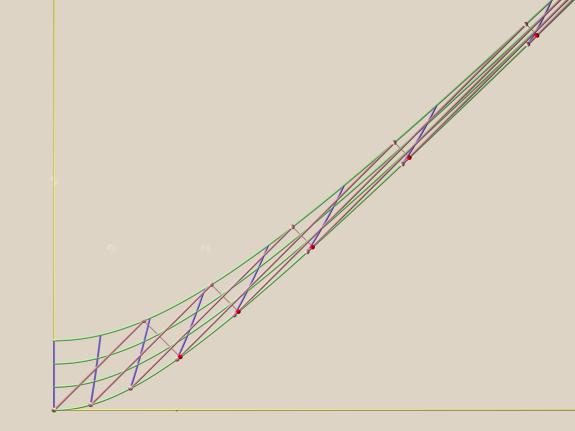 Home inertial frame world surface of 'rigor mortis' acceleration medium with radar paths